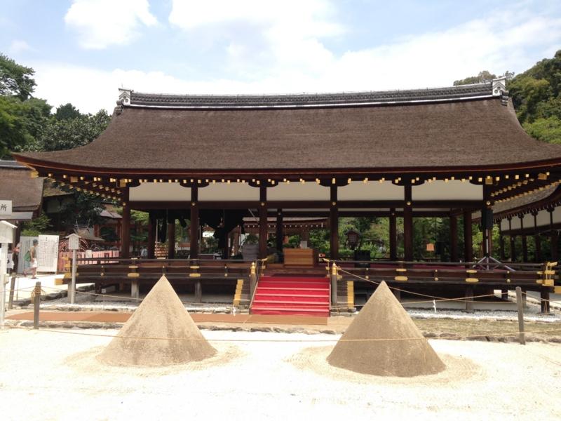 京都最古の神社 上賀茂神社!神馬にもご挨拶できました
