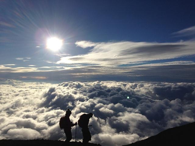 富士山登山の取材日記。