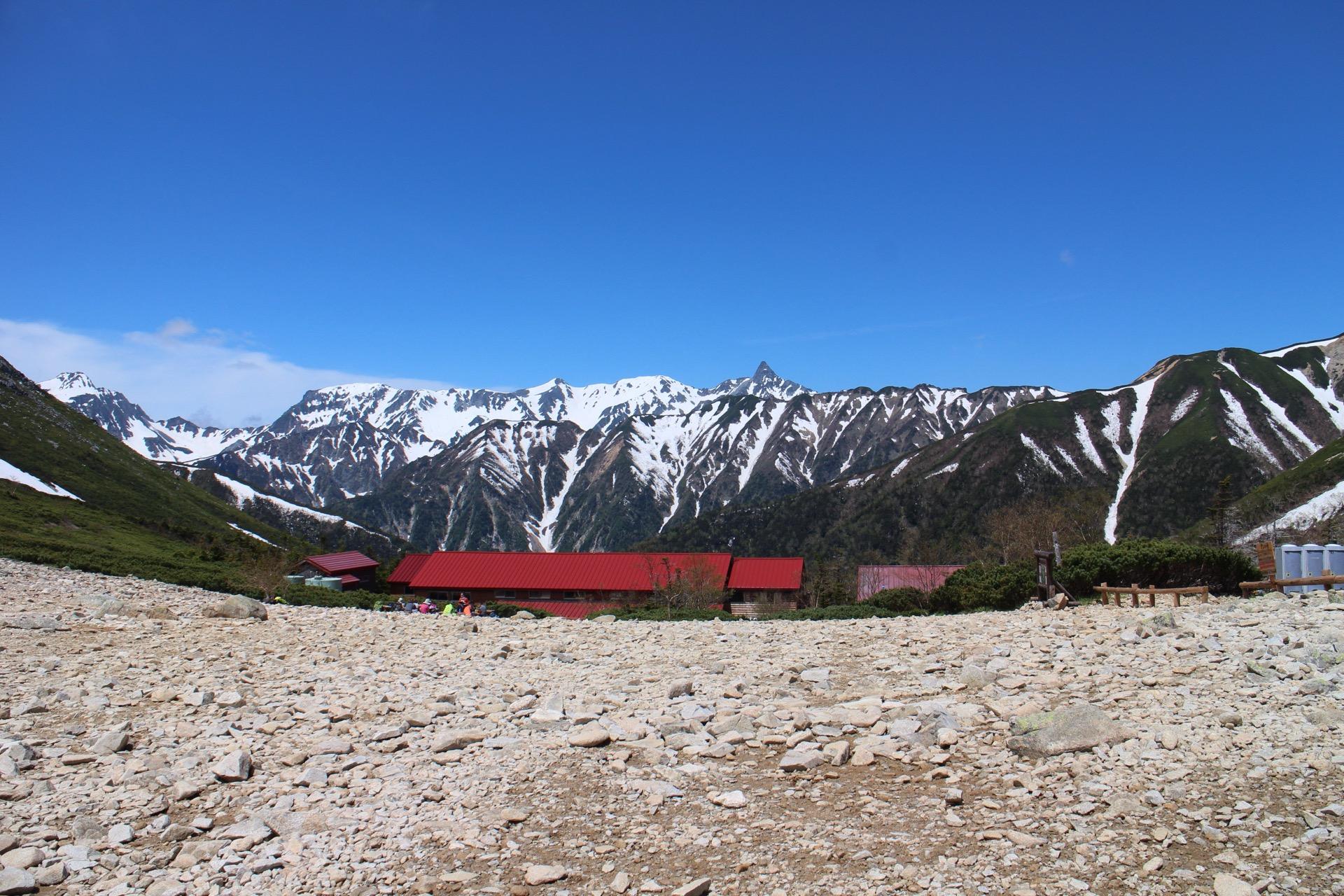 【登山】はじめての北アルプス 常念岳