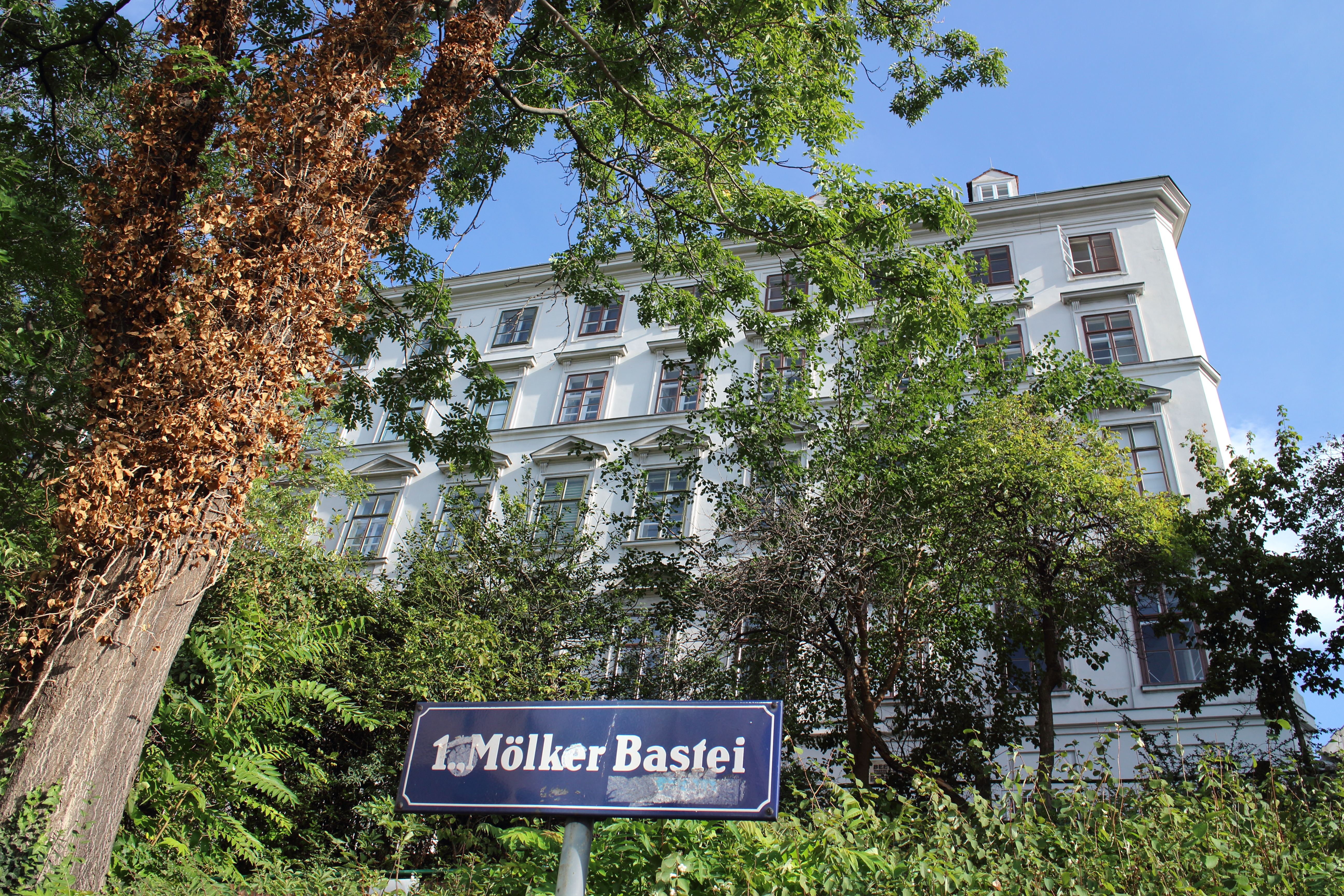 ウィーン市街地にあるベートーベン記念館 パスクァラティハウス