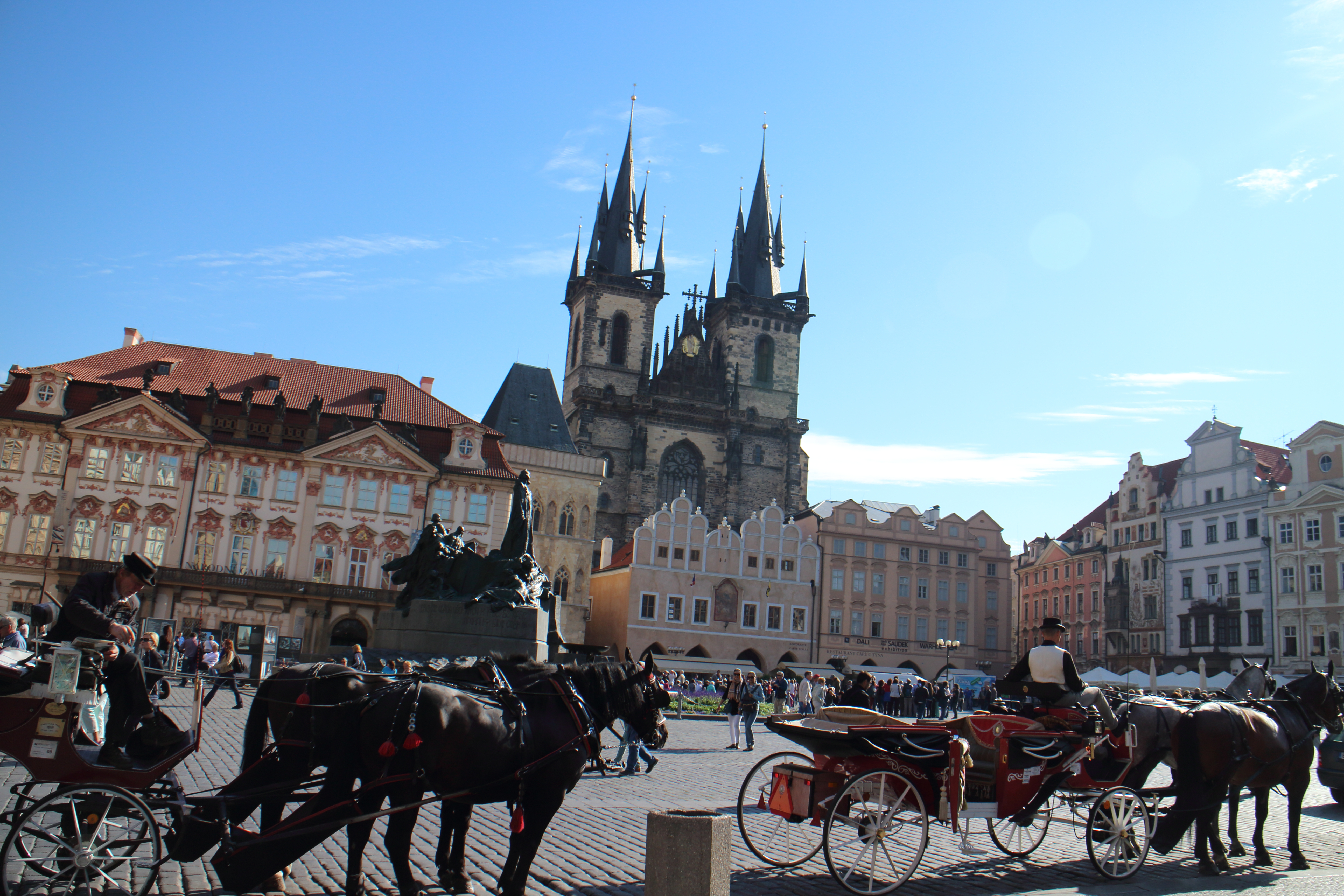 1泊2日弾丸プラハ旅☆まずは旧市街広場へ向かったよ