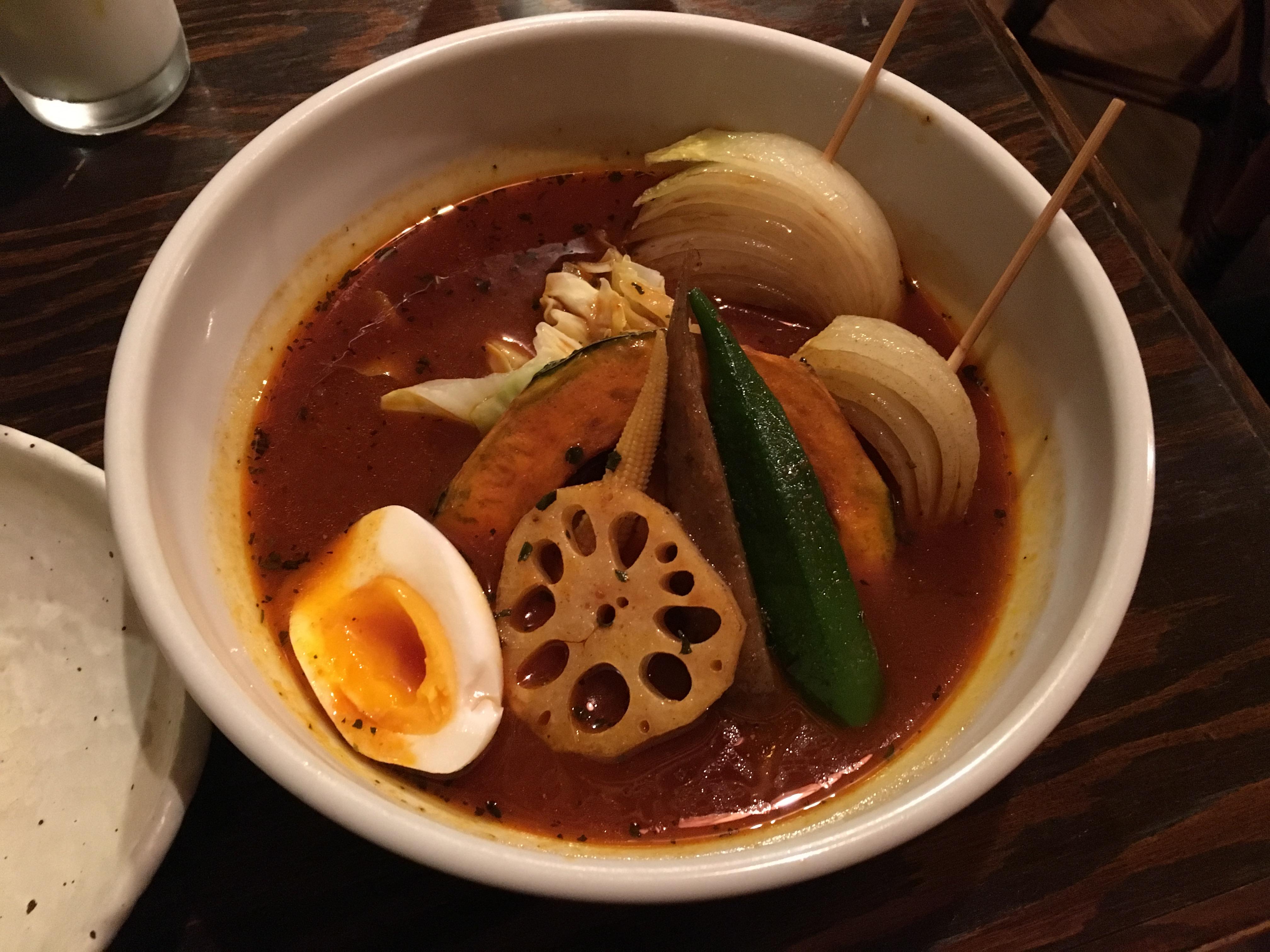 札幌で「スープカレー専門店ドミニカ」に行ってきたよ