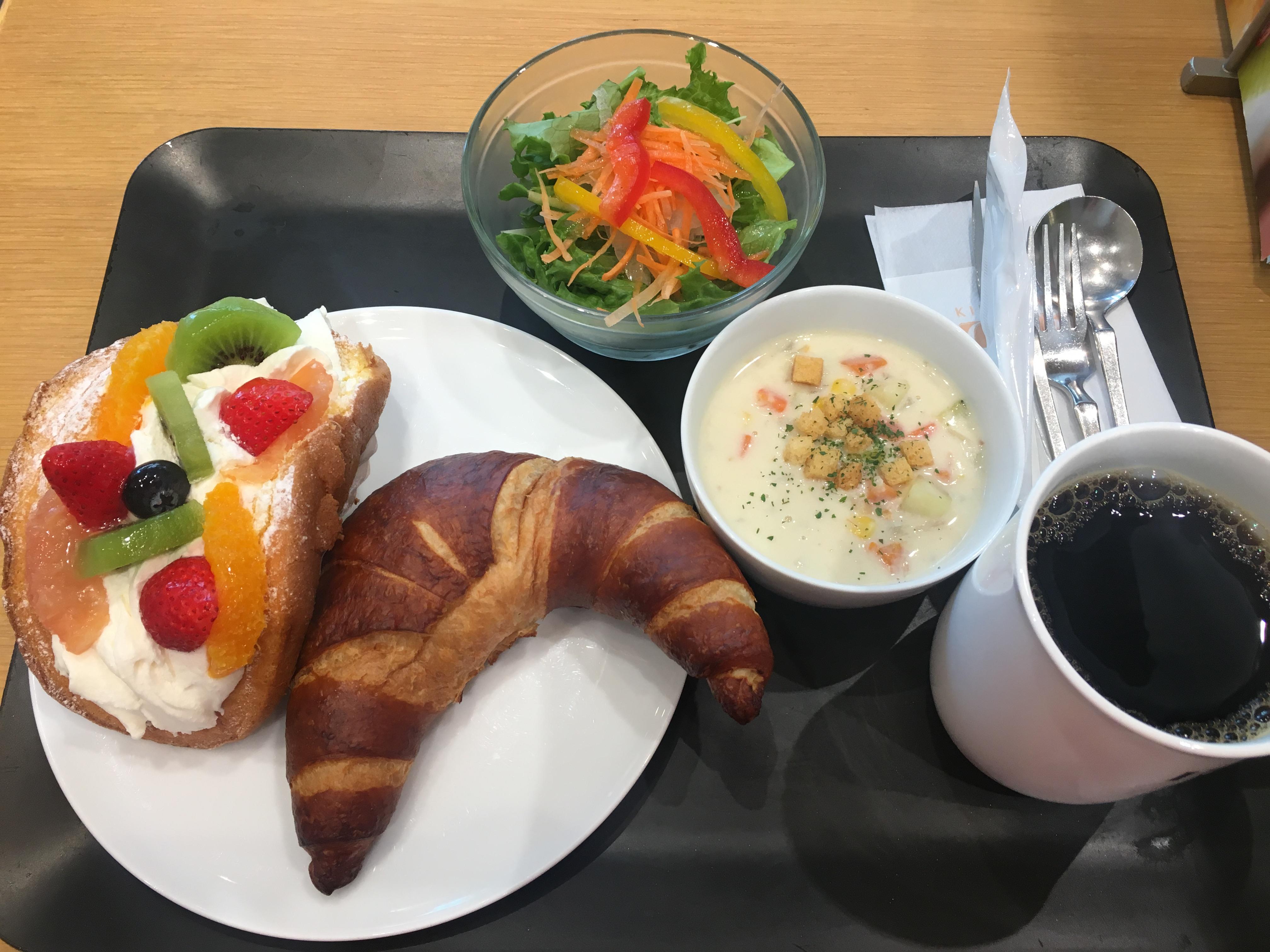 札幌 KINOTOYA cafeで朝ごはん!大通ビッセ店は朝8時からオープン