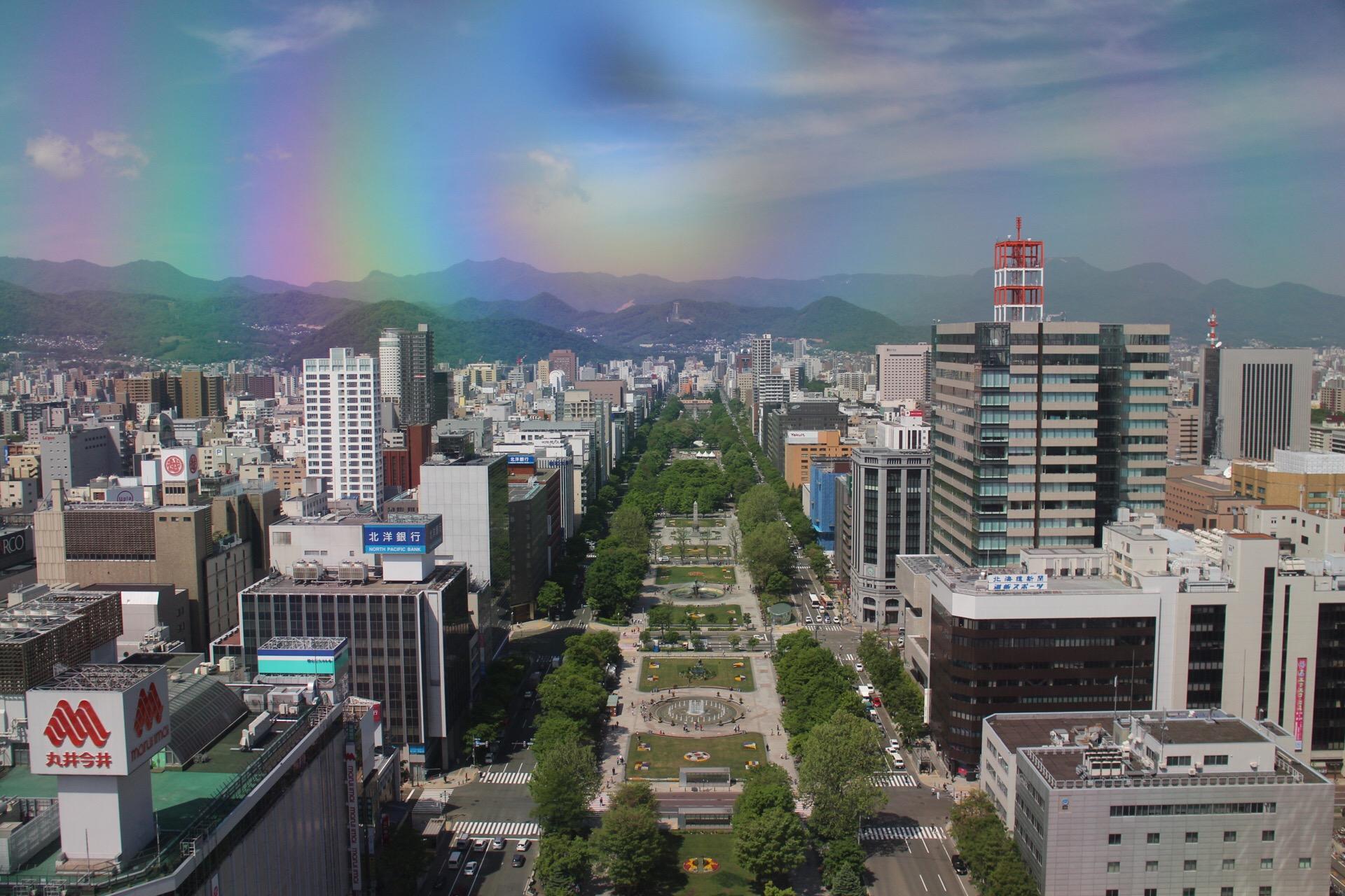 札幌市街地は地下通路を利用すると便利!ちょっと座れる休憩スペースも充実