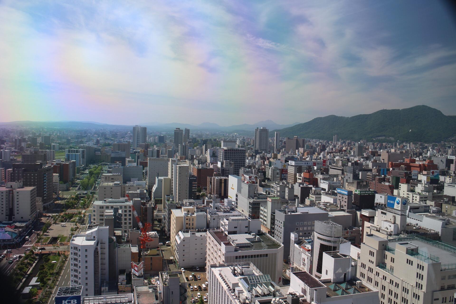 札幌の街を一望!JRタワー展望室とさっぽろテレビ塔