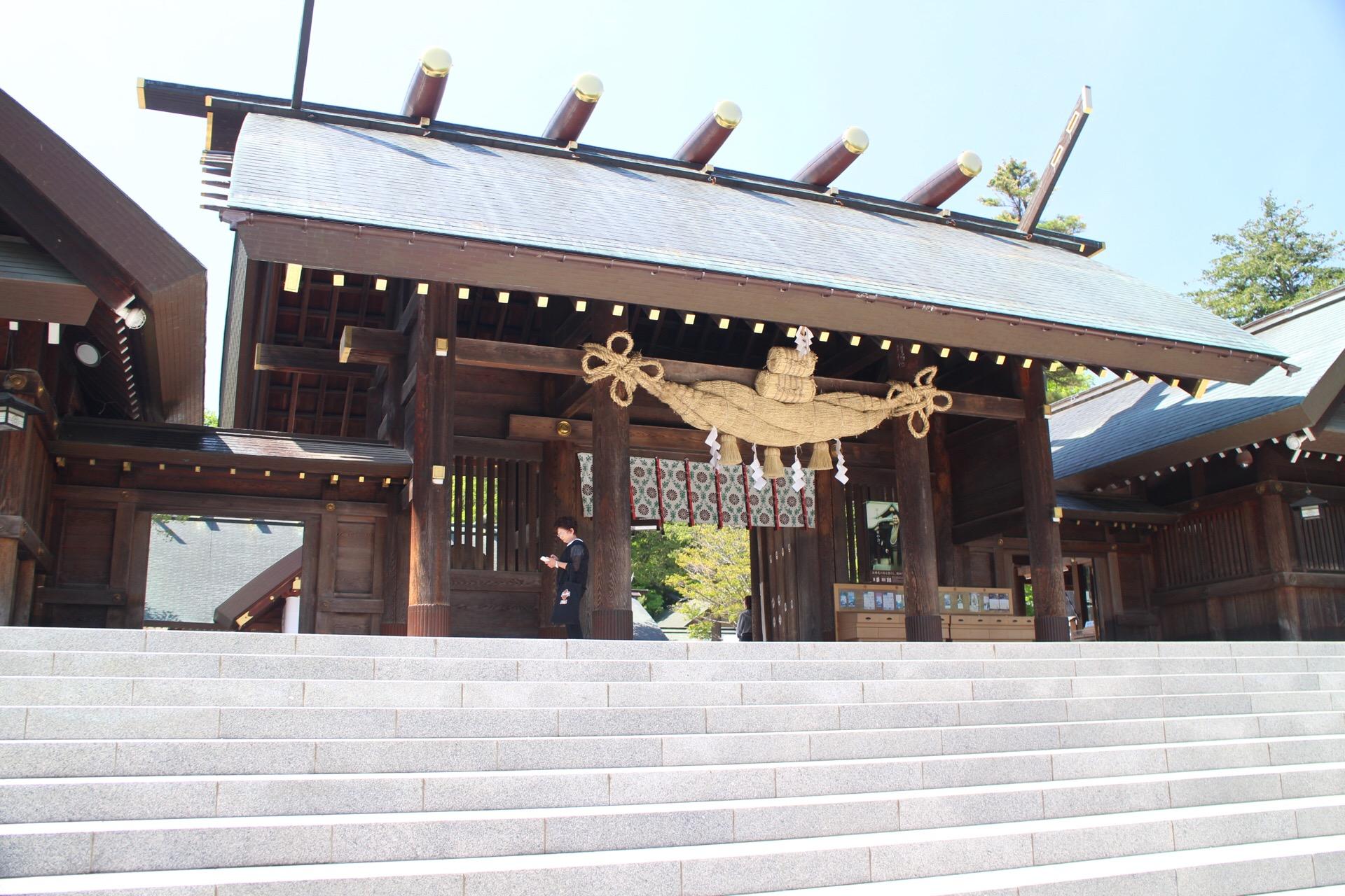 札幌の癒しスポット「北海道神宮」をお参り!六花亭の限定メニュー「判官さま」も食べてきたよ