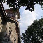 時計台こと旧札幌農学校演舞場の見学