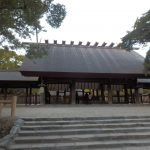 熱田神宮にお参りした時の話。