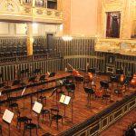 ブダペストのリスト音楽院でハンガリー放送交響楽団のコンサート