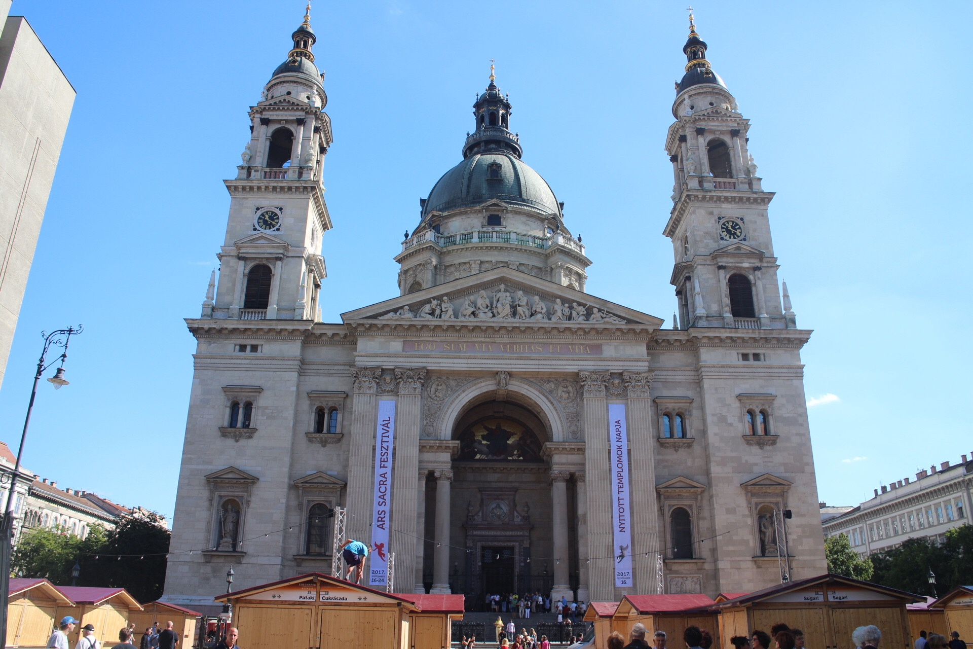 聖イシュトヴァーン大聖堂@ブダペスト!パノラマ(展望台)と宝物館も行ってきた。