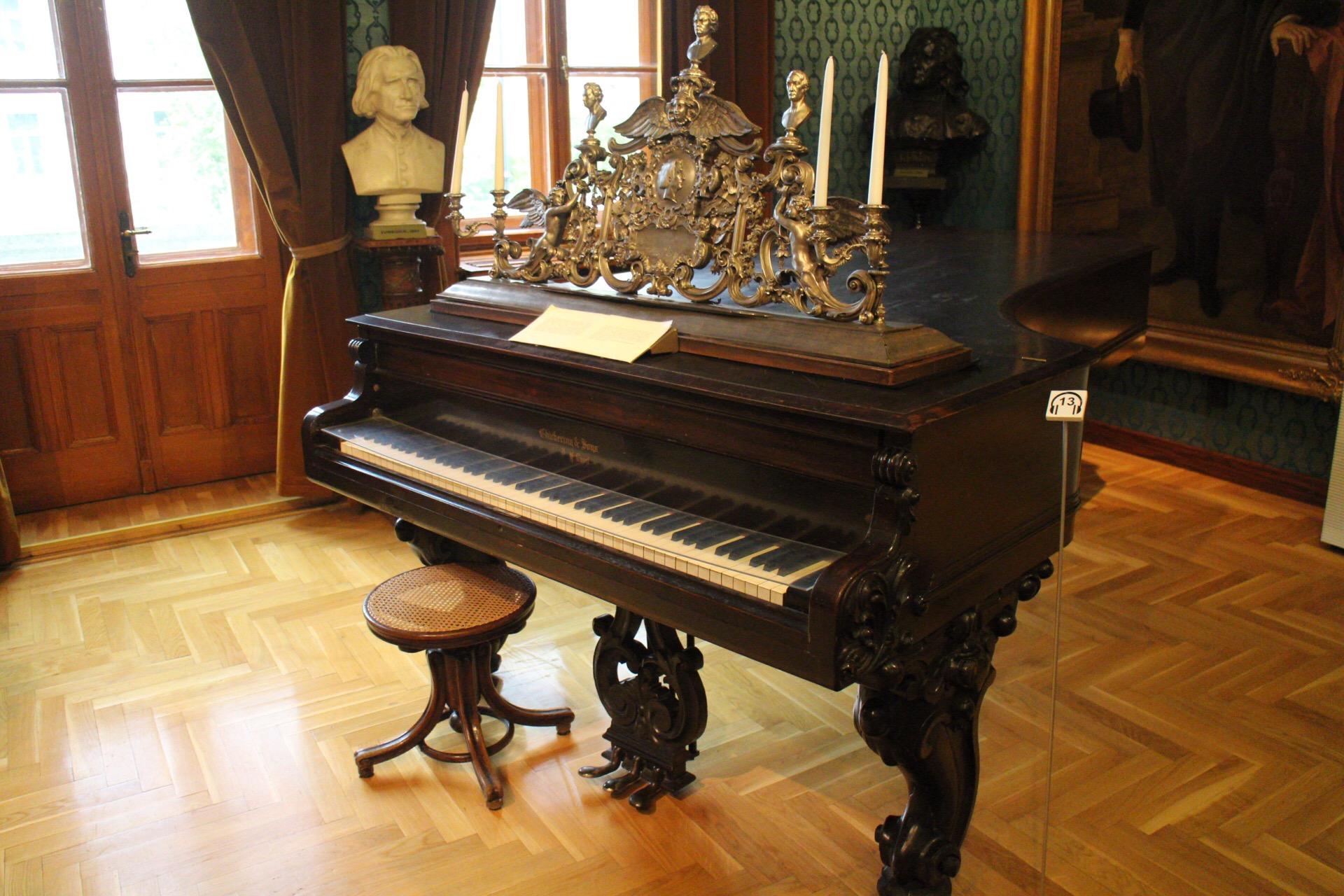 ブダペストのリスト・フェレンツ記念博物館に行ってきたよ。