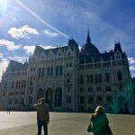 ブダペスト滞在。ちょこっとお散歩したりショッピングしたりな日。