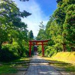 【青森】弘前駅からバスで岩木山神社に行ってきたよ!