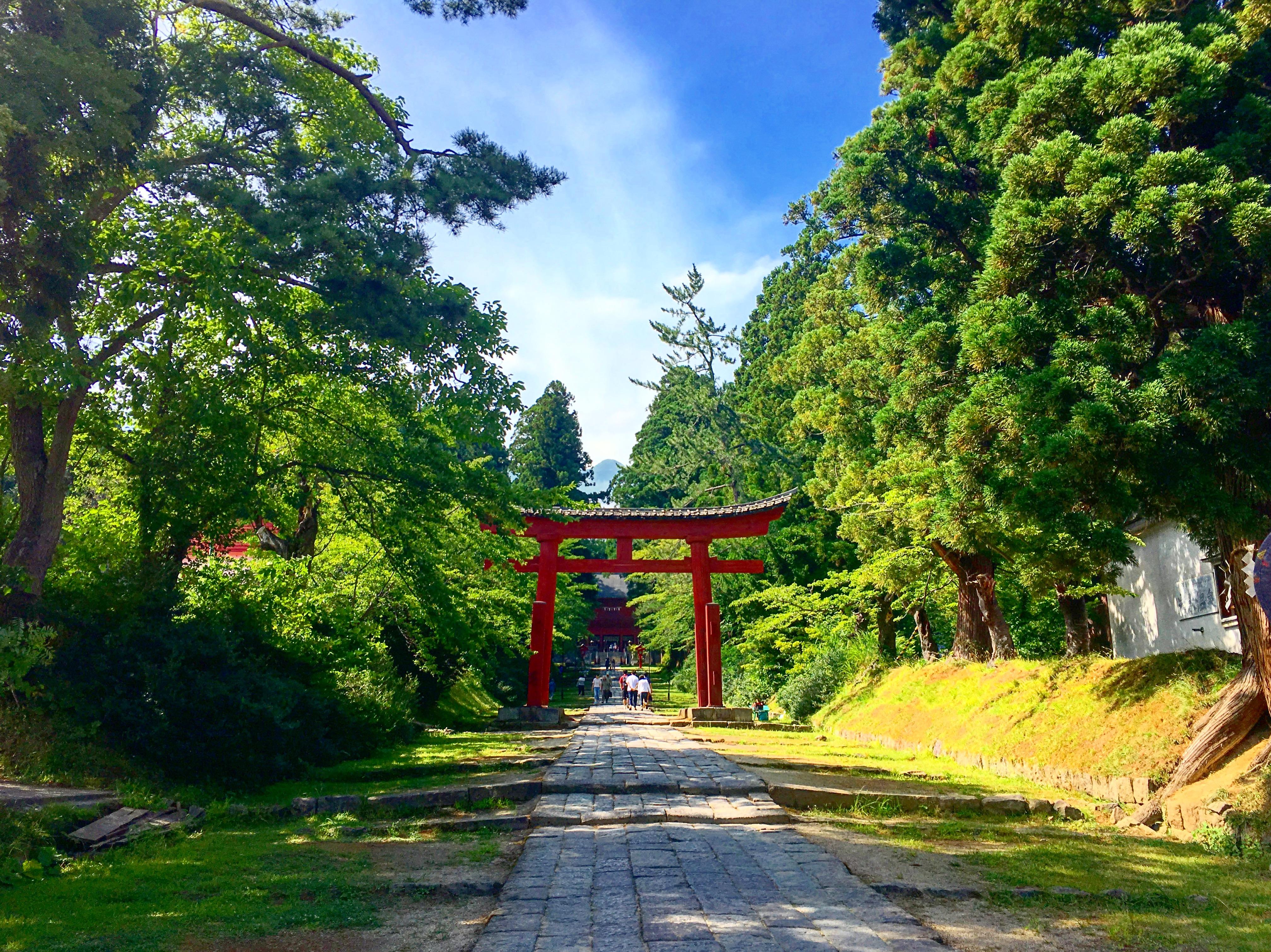 【青森】弘前駅から路線バスで岩木山神社に行ってきたよ!
